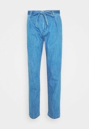 Spodnie materiałowe - blue denim