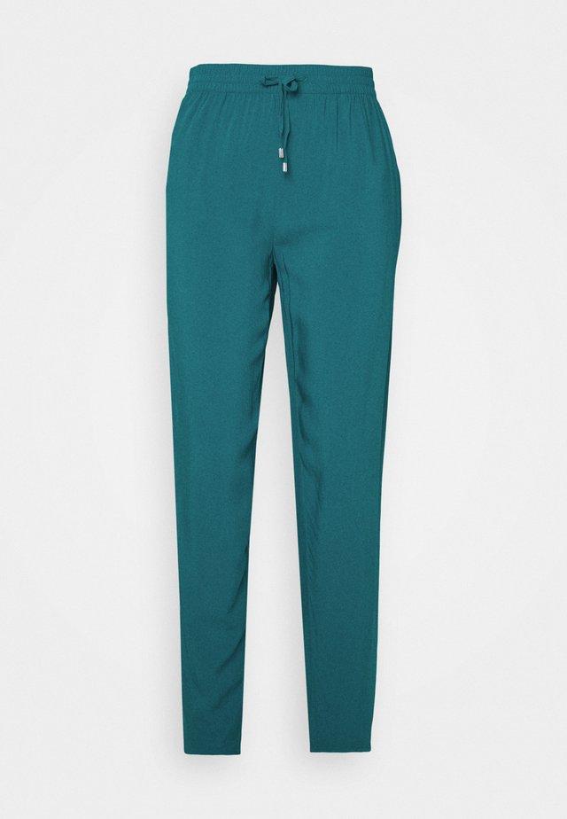 LANG - Spodnie materiałowe - everglade blue