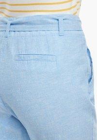 s.Oliver - Trousers - light blue melange - 6