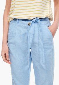 s.Oliver - Trousers - light blue melange - 3