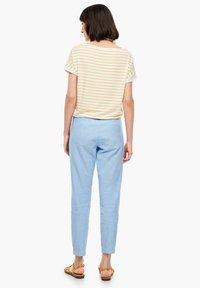 s.Oliver - Trousers - light blue melange - 2