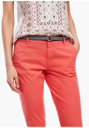 RELAXED FIT - Chinos - pink