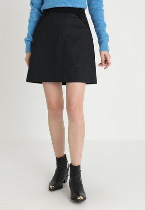 A-line skjørt - black melange