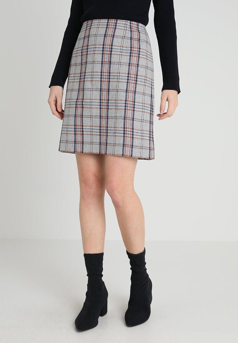 s.Oliver - KURZ - Áčková sukně - grey