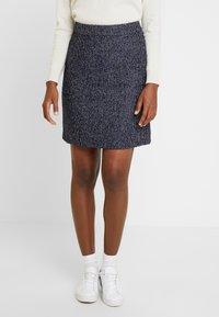 s.Oliver - Pencil skirt - blue - 0