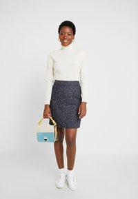 s.Oliver - Pencil skirt - blue - 1