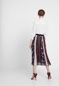 s.Oliver - ROCK LANG - Veckad kjol - navy - 2
