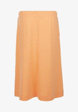 A-line skirt - light orange
