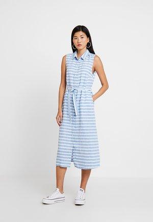 KURZ - Shirt dress - lightblue