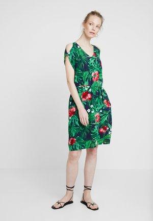 Denní šaty - navy/tropical