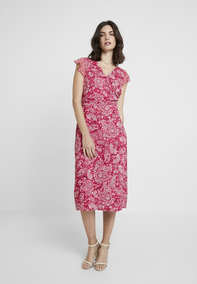 KURZ - Korte jurk - purple/pink