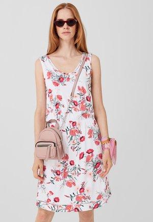 Jersey dress - off-white