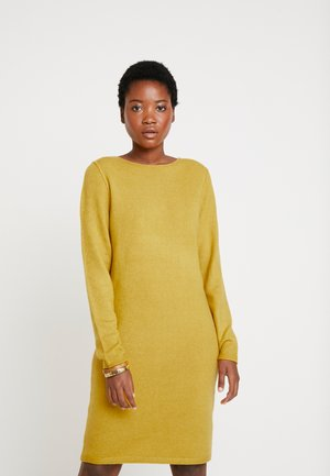 Jumper dress - curry