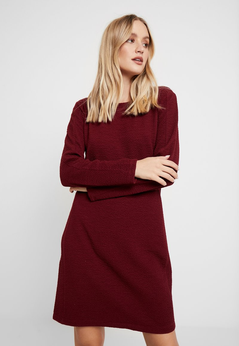 s.Oliver - Day dress - burgundy