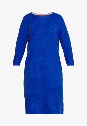 Sukienka dzianinowa - royal blue
