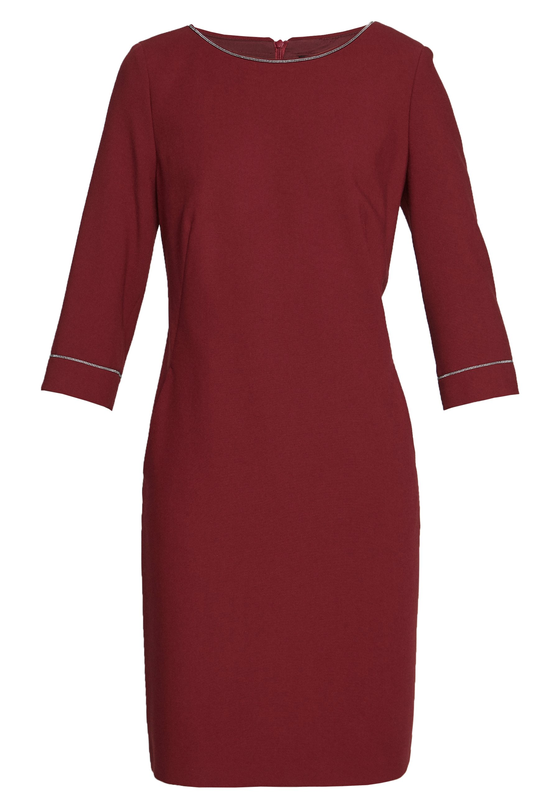 s.Oliver BLACK LABEL KURZ - Sukienka letnia - burgundy