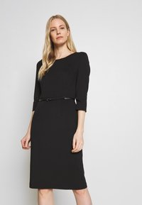 s.Oliver BLACK LABEL - KLEID KURZ - Vestido de tubo - true black - 0