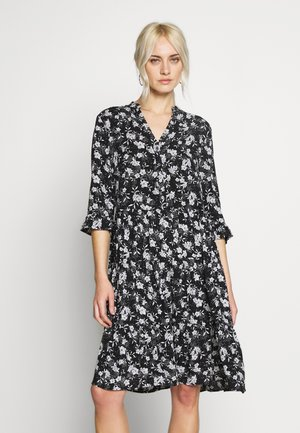 KURZ - Korte jurk - black