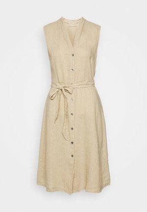 Skjortekjole - brown