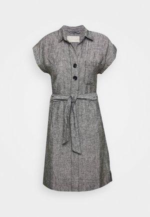 KURZ - Vestido camisero - black melange
