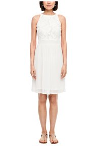 s.Oliver - Cocktail dress / Party dress - offwhite - 5