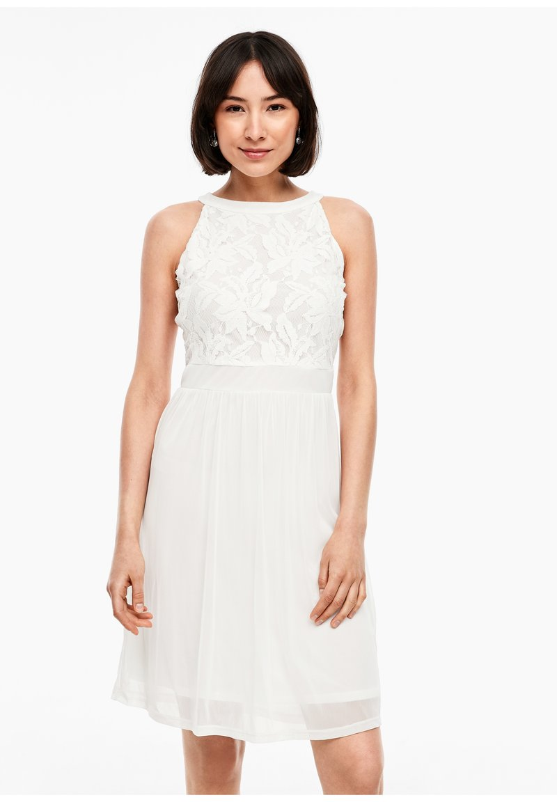 s.Oliver - Cocktail dress / Party dress - offwhite