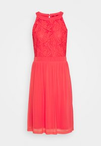 s.Oliver - Cocktail dress / Party dress - coral red - 0