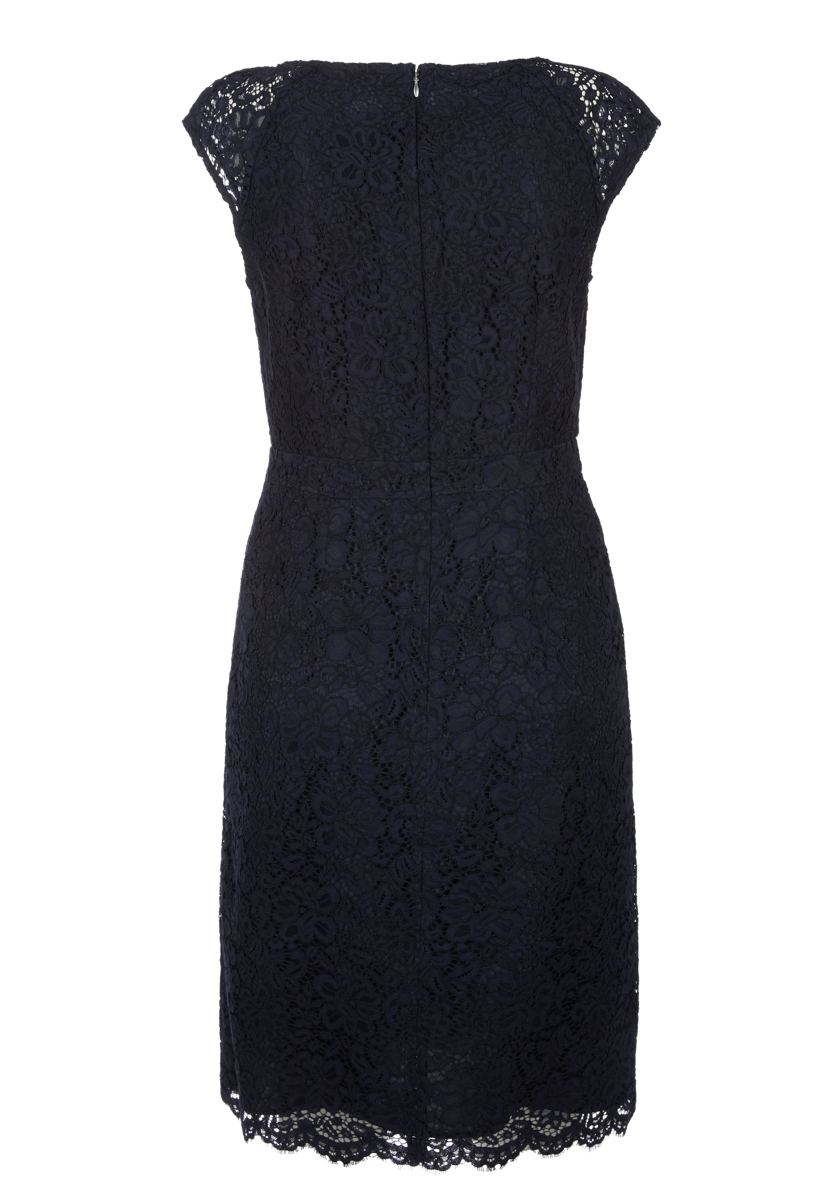 s.oliver kurzes kleid aus blÜtenspitze - cocktail dress