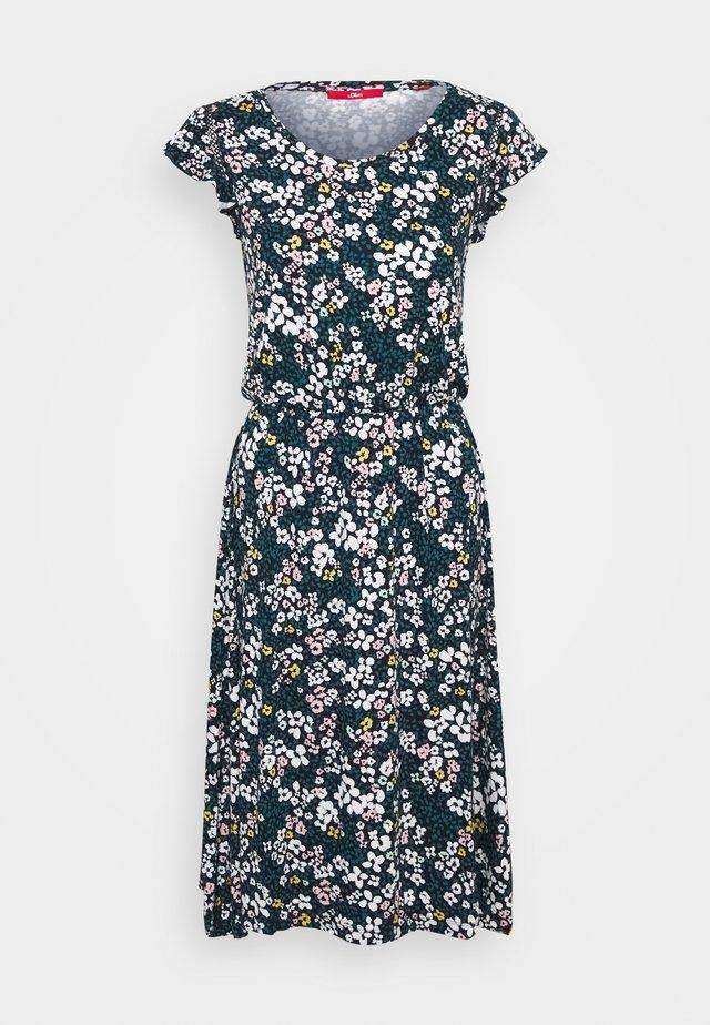 Sukienka z dżerseju - multicoloured