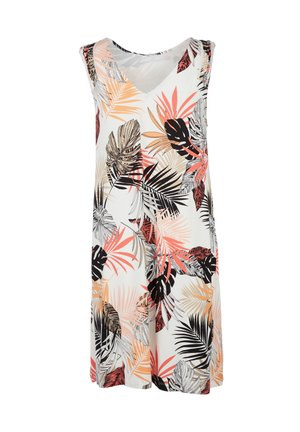 Day dress - offwhite aop