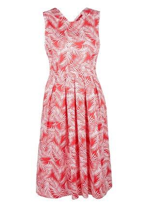 Day dress - raspberry aop