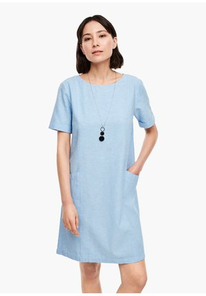 Day dress - light blue melange