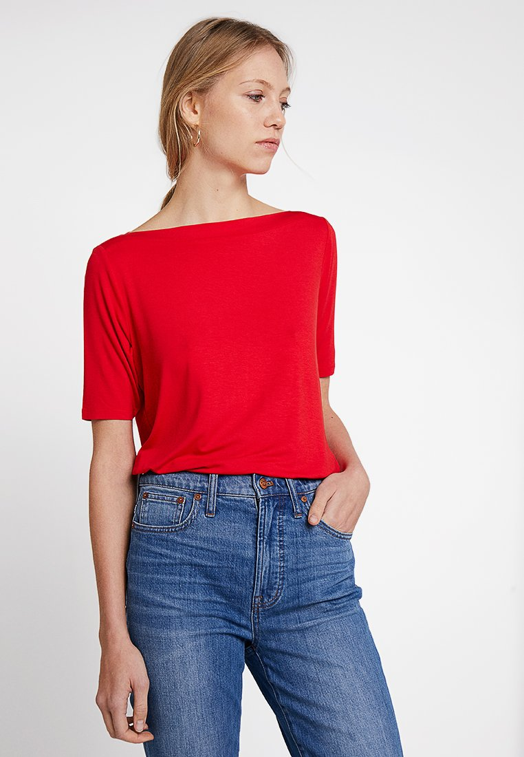 s.Oliver - T-Shirt print - red