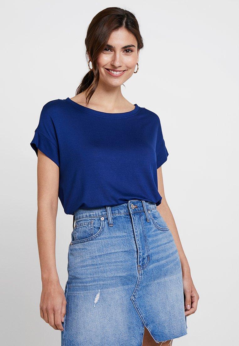 s.Oliver - KURZARM - T-shirt basic - indigo