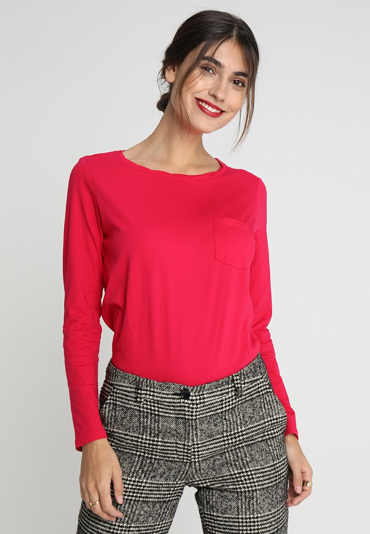 s.Oliver - Long sleeved top - poppy pink