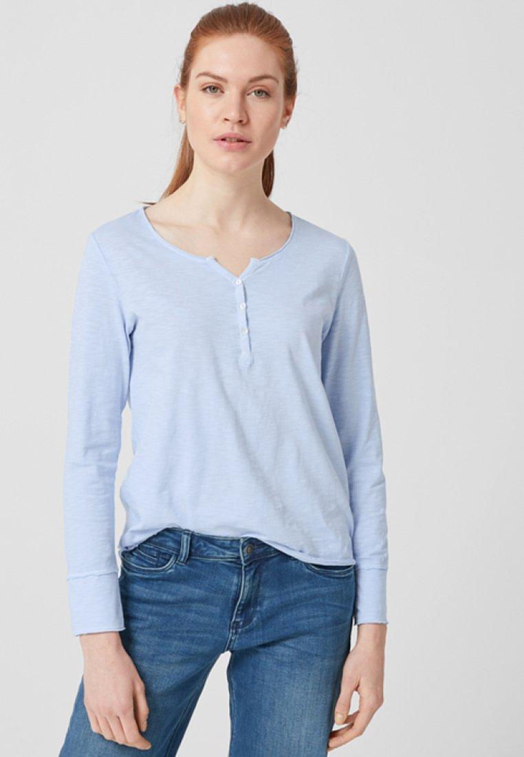 s.Oliver - Langarmshirt - light blue