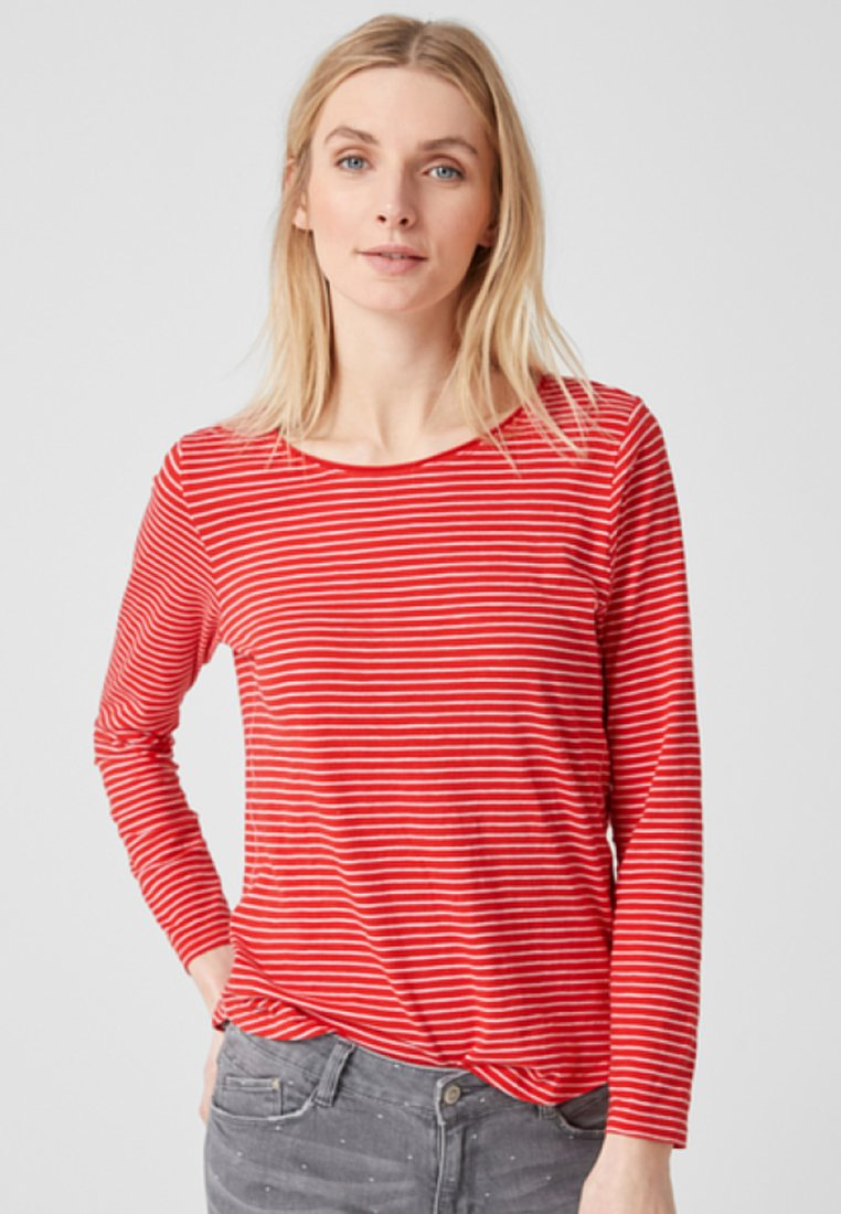 s.Oliver - Long sleeved top - red