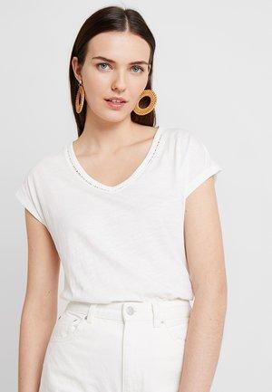 KURZARM - T-shirt - bas - creme