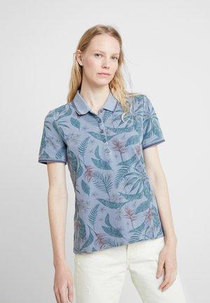 Polo shirt - grey/blue