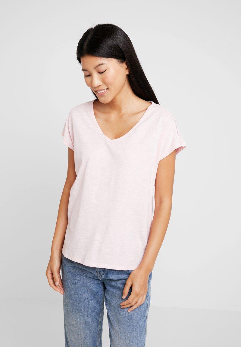 s.Oliver - KURZARM - T-Shirt basic - soft rose