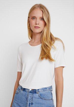 T-Shirt print - creme