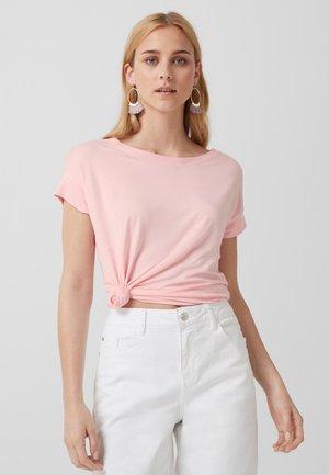 Basic T-shirt - rose
