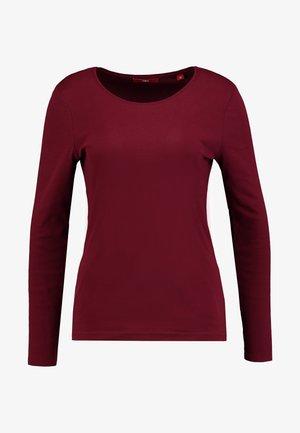 LANGARM - Maglietta a manica lunga - bordeaux