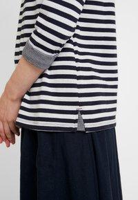 s.Oliver - 3/4 ARM - Långärmad tröja - midnight blue - 5