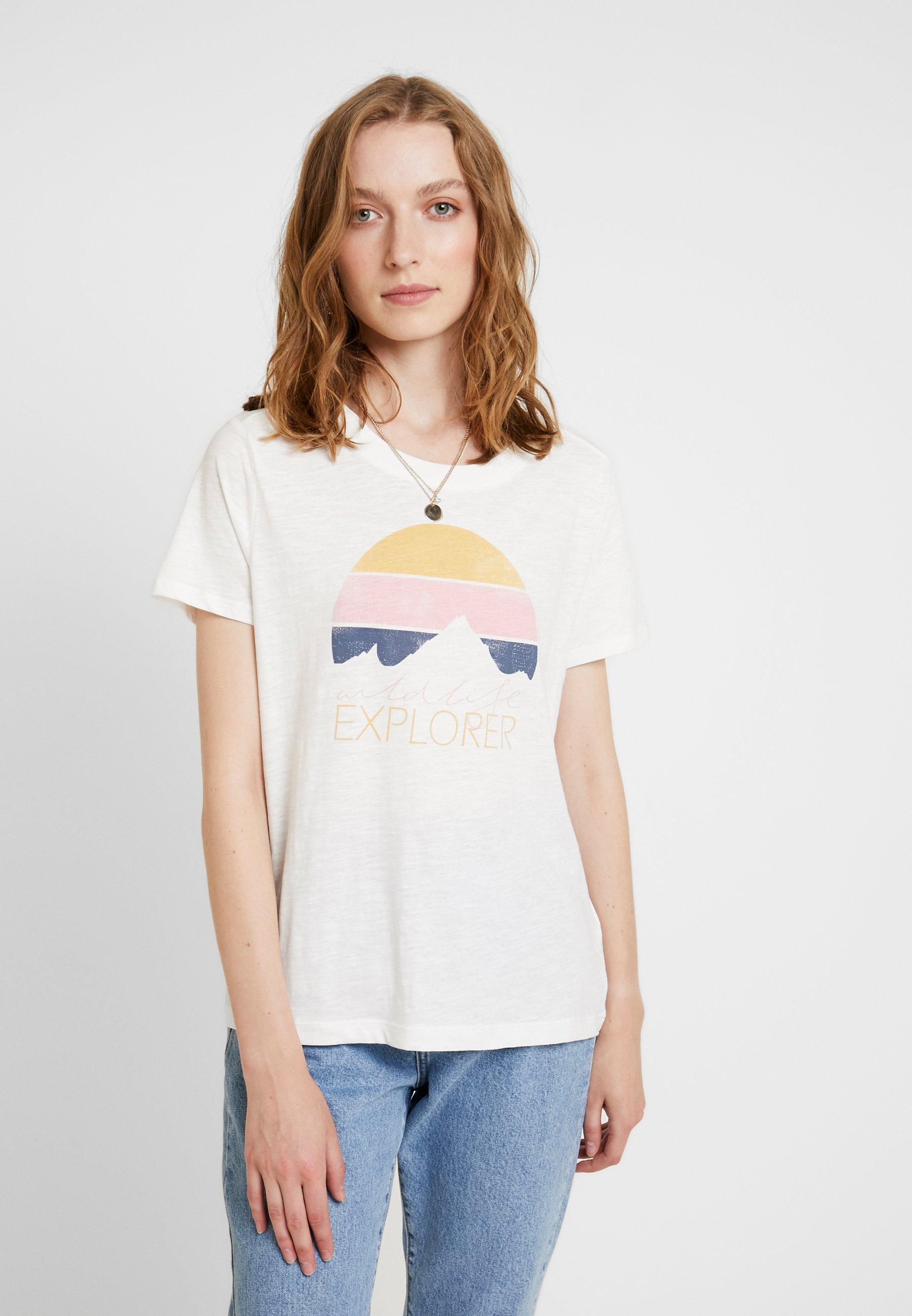 Imprimé shirt S KurzarmT oliver Cream zUMVSp