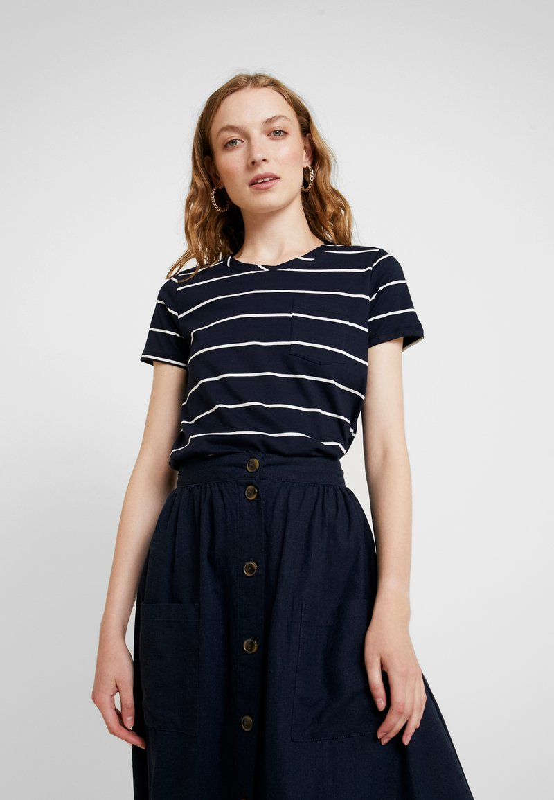 s.Oliver - KURZARM - T-shirts print - navy