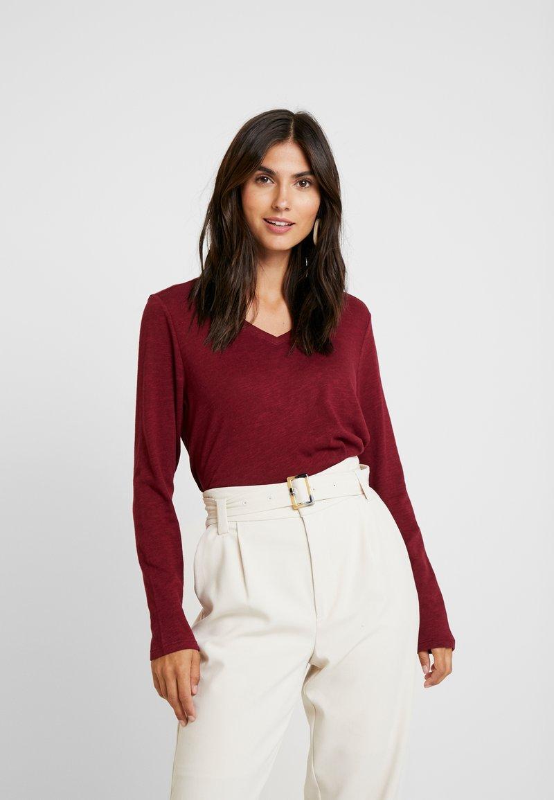 s.Oliver - Long sleeved top - bordeaux