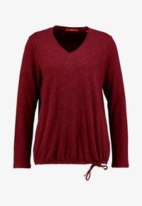 s.Oliver - Long sleeved top - bordeaux - 3