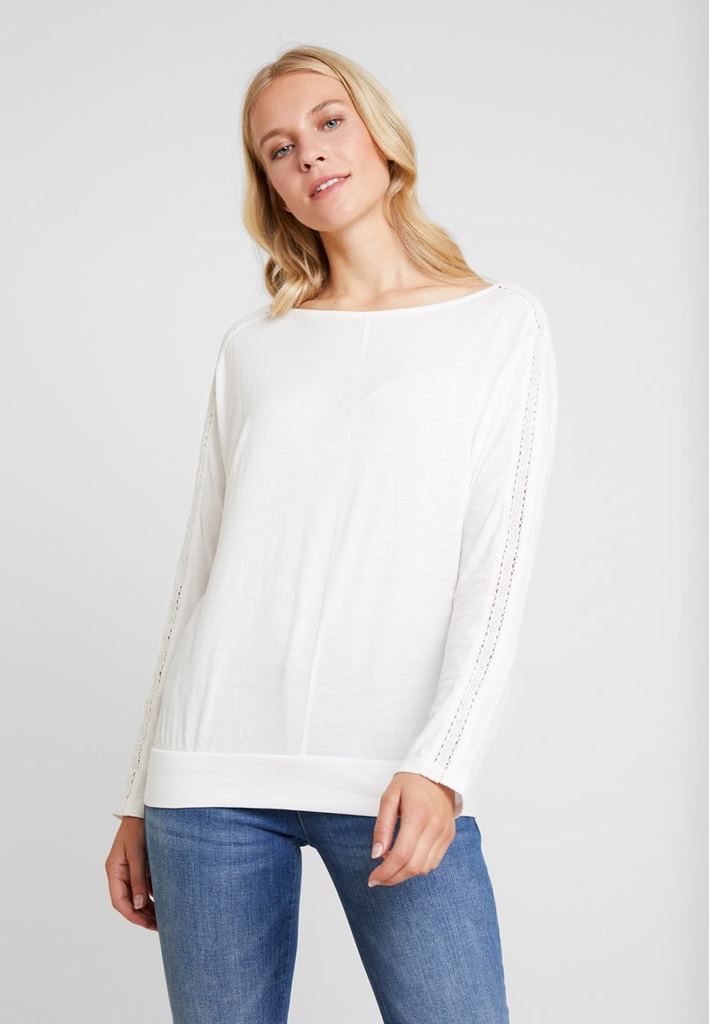 s.Oliver - LANGARM - Long sleeved top - creme