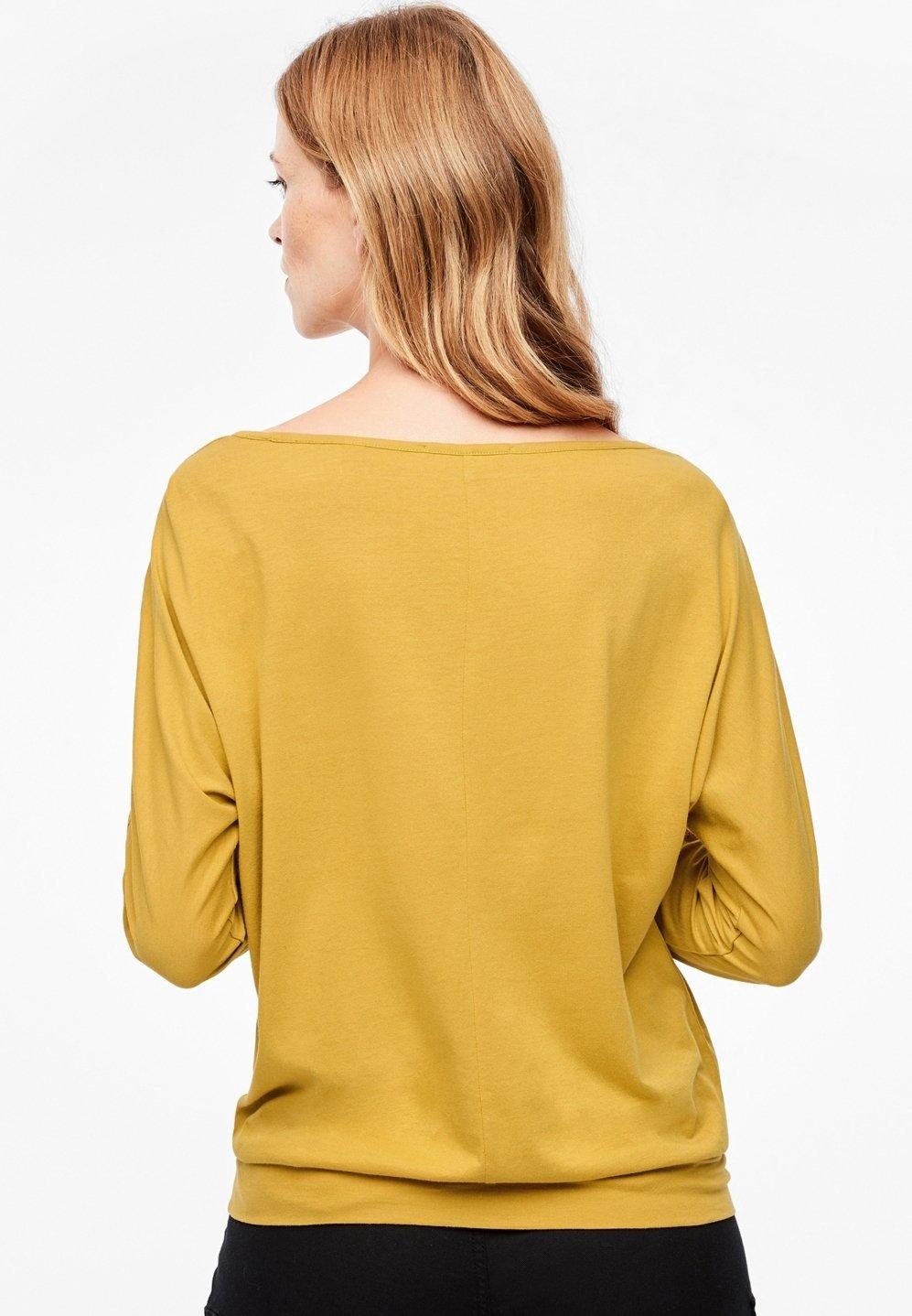S.oliver Langarm - Longsleeve Yellow SkM1e8JY
